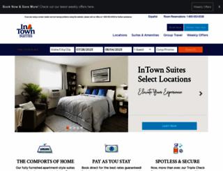 intownsuites.com screenshot