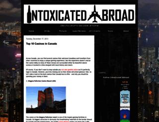 intoxicatedabroad.com screenshot