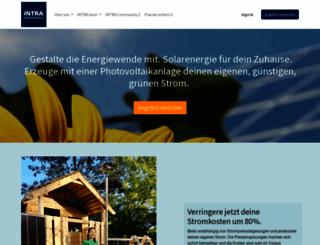 intra-pv.com screenshot