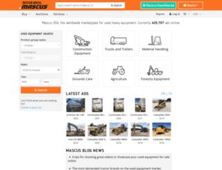 intra.mascus.com screenshot