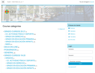 intraceu.ceuandalucia.es screenshot