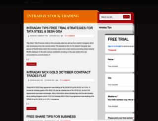 intraday-stock-trading.blogspot.in screenshot