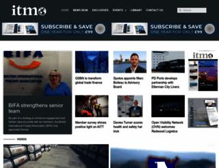 intrademagazine.com screenshot