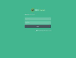 intranet.doh.gov.ph screenshot