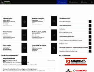 intranet.warszawa.pl screenshot
