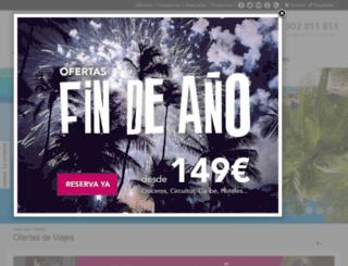 intranetnautaliatest.juniper.es screenshot