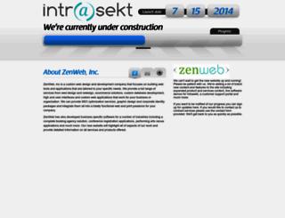 intrasekt.com screenshot