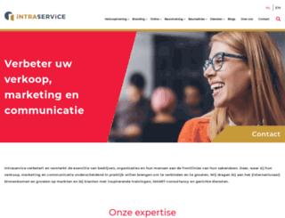 intraservice.nl screenshot