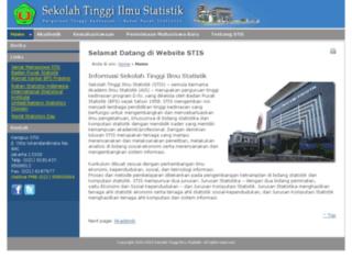 intraweb.stis.ac.id screenshot