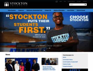 intraweb.stockton.edu screenshot