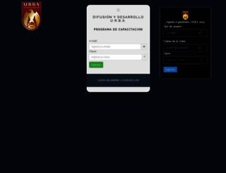 intraweb.urba.org.ar screenshot
