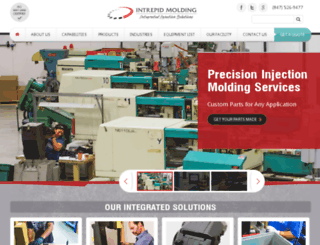 intrepidmolding.com screenshot