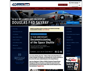 intrepidmuseum.org screenshot