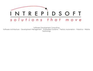 intrepidsoft.com screenshot