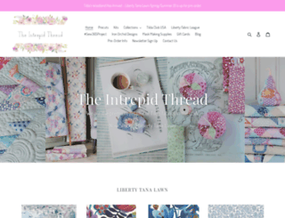 intrepidthread.com screenshot