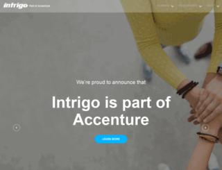 intrigosys.com screenshot