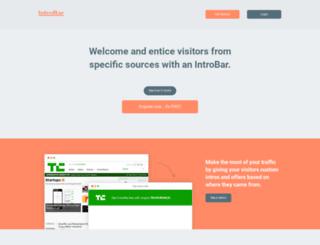 introbar.com screenshot