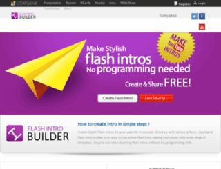 introbuilder.corpgenie.com screenshot