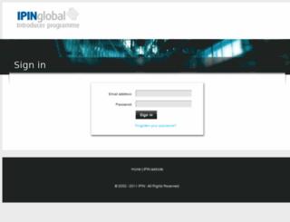 introducer.ipinglobal.com screenshot