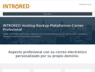 introred.com screenshot