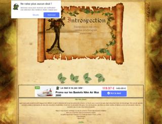 introspection.forum-actif.net screenshot