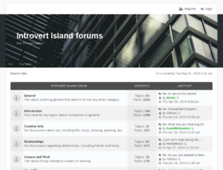 introvertisland.com screenshot