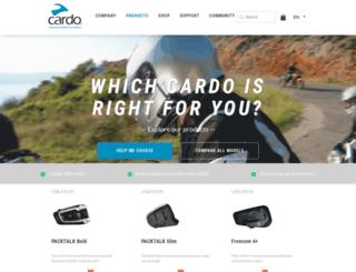 intstore.cardosystems.com screenshot