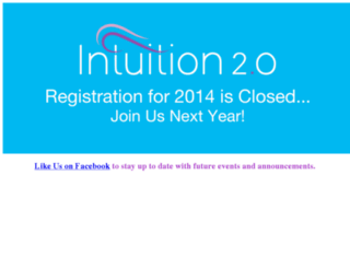 intuition2conference.com screenshot