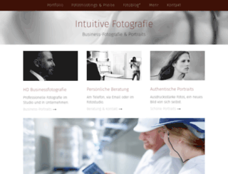 intuitive-fotografie.de screenshot