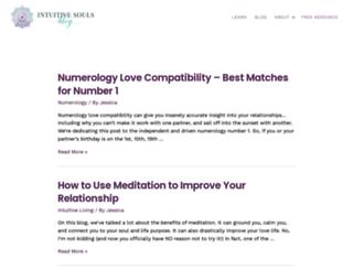 intuitivesoulsblog.com screenshot