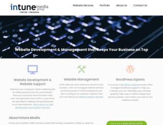 intunemedia.com screenshot