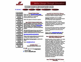 intusoft.com screenshot
