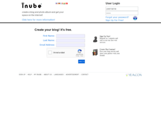 inube.com screenshot