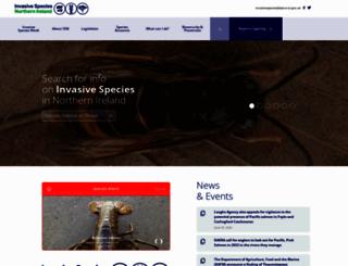 invasivespeciesireland.com screenshot