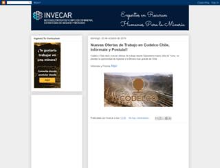 invecar.blogspot.cl screenshot