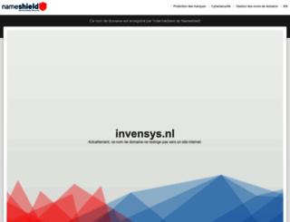 invensys.nl screenshot