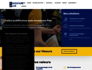 inventaireplus.fr screenshot