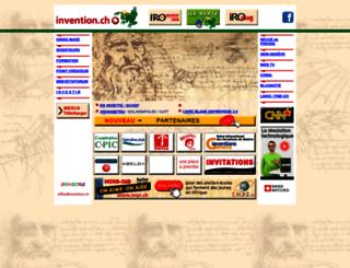 invention.ch screenshot