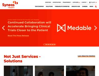 inventivehealth.com screenshot