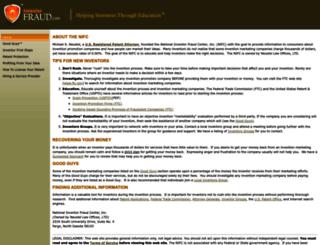 inventorfraud.com screenshot