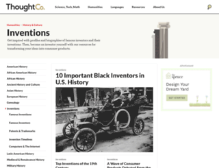 inventors.about.com screenshot