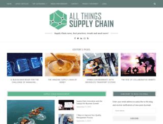 inventory-and-supplychain-blog.com screenshot