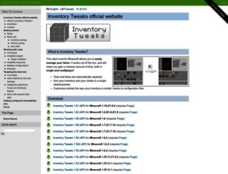 inventory-tweaks.readthedocs.org screenshot