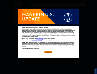 inventory.manheim.com screenshot