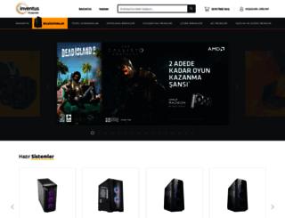 inventus.com.tr screenshot