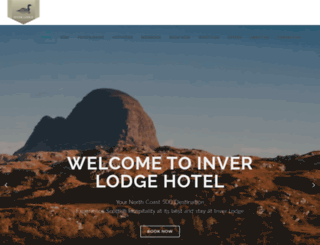inverlodgehotel.co.uk screenshot
