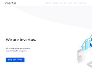 invertus.lt screenshot