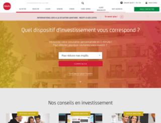 invest.nexity.fr screenshot