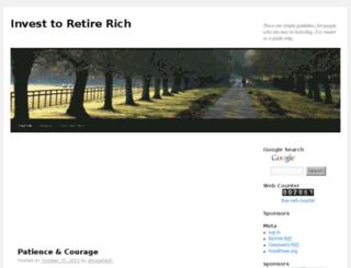 invest2retirerich.byexamples.com screenshot
