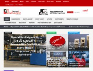 investadvocate.com.ng screenshot